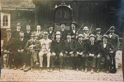 Landskappleiken 1919, kjelde Folkemusikksenteret i Buskerud