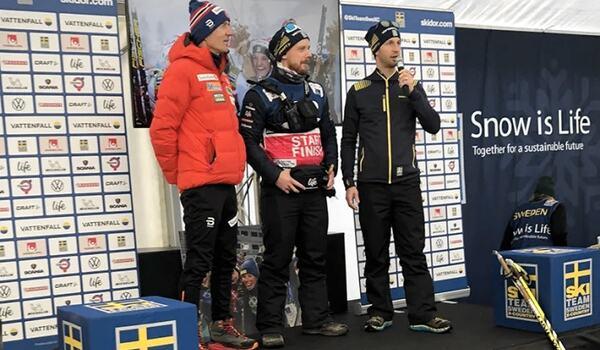 Det planeras gemensamma uppladdningar inför tävlingar med både norska och svenska tränare på plats. FOTO: Viktor Randhem/Svenska skidförbundet.