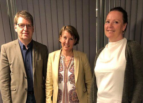 Esther, Linn og Ola Tore