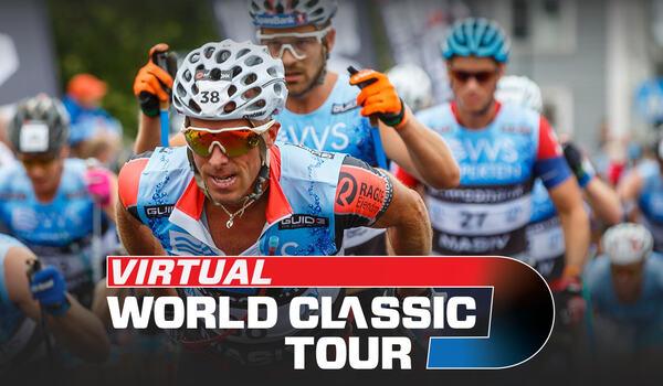 I sommar blir rullskidtouren World Classic Tour virtuell och alla som vill kan delta och samtidigt stötta sitt favoritteam. FOTO: World Classic Tour.