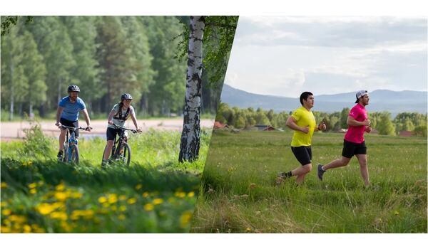 Vasaloppet lanserar nu Hemmavasan 2020 när man inte kan arrangera Vasaloppets sommarvecka. FOTO: Vasaloppet.