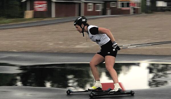Britta Johansson Norgren vann i Grönklitt på fredagskvällen efter en tuff fight mot Laila Kveli. FOTO: Marcus Laggar.
