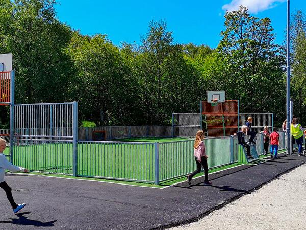 Fotballbinge på Rundevoll