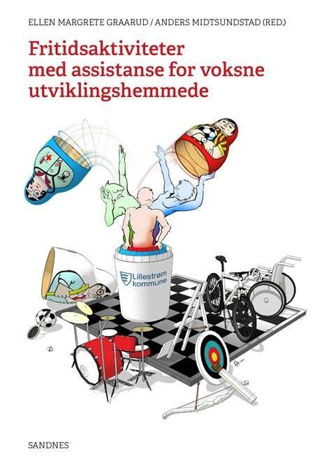 Omslagsbilde til boka Fritidsaktiviteter med assistanse for voksne utviklingshemmede