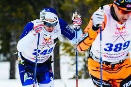 Klas Nilsson satsar på att utmana om segern i Nordenskiöldsloppet våren 2021. FOTO: Magnus Östh/Red Bull Content Pool.