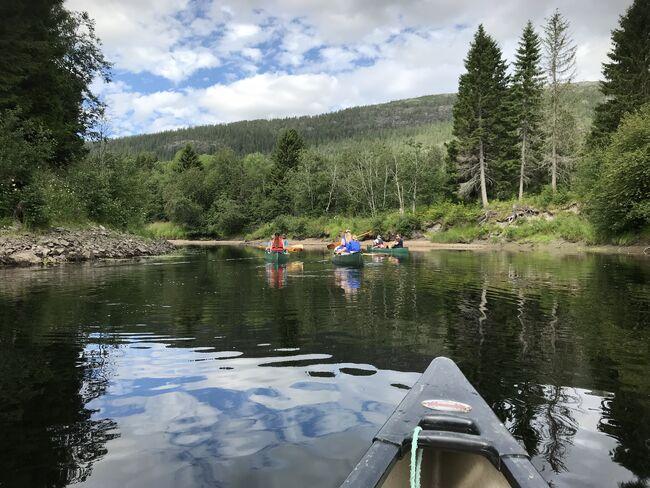 Kanotur i Bjøra