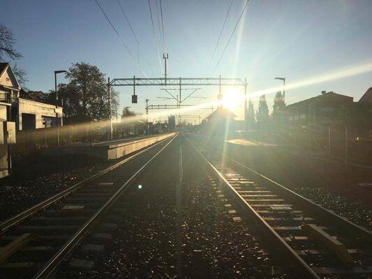 Askim stasjon, østre linje