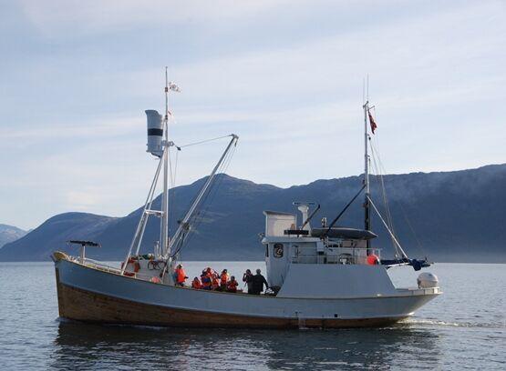 Fisketur med Bolga