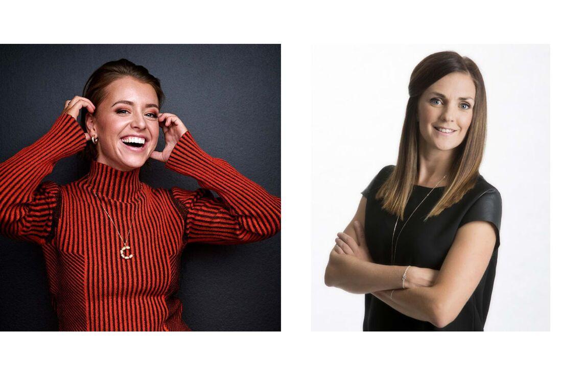 Clara Henry och Johanna Ojala blir programledare för Hemmavasan Live 15 augusti i Vasaloppet.TV. FOTO: Morgan Norman (Clara Henry). Vasaloppet (Johanna Ojala).