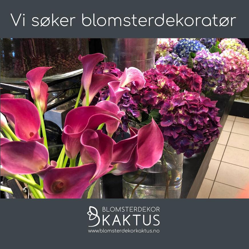 Ledig-stilling-Blomsterdekoratør-Kaktus-