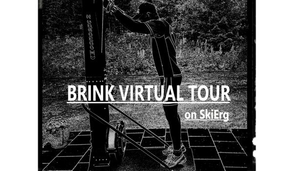 Jörgen Brink vill inspirera till sommarträning genom att bjuda in till virtuella Brink Tour på SkiErg.
