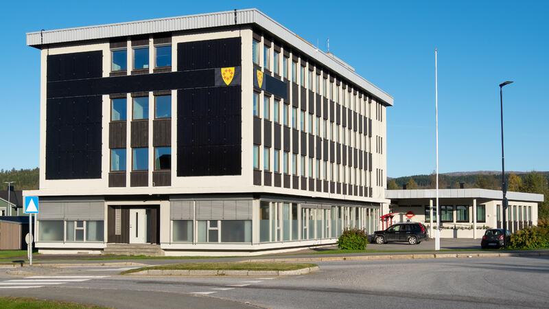 Administrasjonsbygget Overhalla kommune