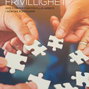 Omslagsbilde til boka Frivillighet