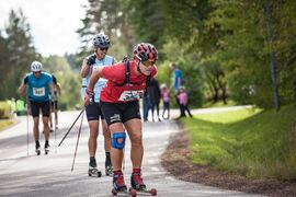 230 rullskidåkare från 20 länder deltog på  Virtual Alliansloppet i helgen. FOTO: Alliansloppet.