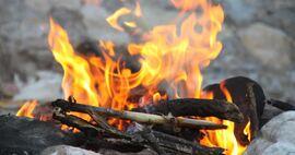 Bål brann og redning