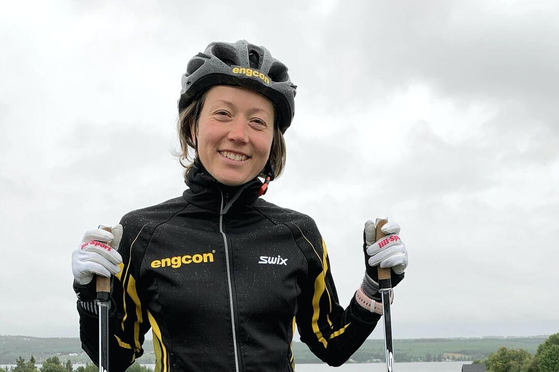 Laila Kveli har en bra träningsperiod bakom sig och till vintern hoppas hon på gammal god form igen.