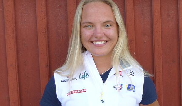 Linn Svahn är på plats med landslaget i Torsby och förbereder sig för VM-vintern. FOTO: Johan Trygg/Längd.se.