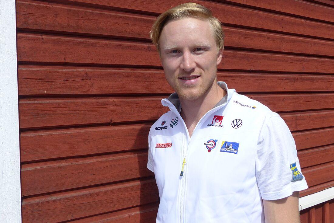 Oskar Svensson är ensam svensk herråkare till start på lördagskvällens sprinttävlingar vid Blinkfestivalen i Norge. FOTO: FOTO: Johan Trygg/Längd.se.
