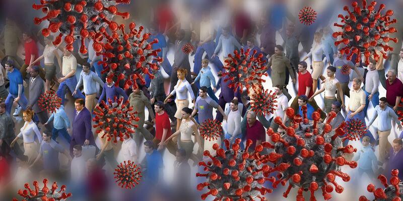 Illustrasjon koronavirus