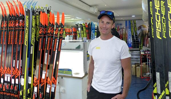 Petter Myhlback tror inte testverktyget för att hitta fluor på skidorna på klart för att användas i tävlingssammanhang till OS-vintern 2022. FOTO: Johan Trygg/Längd.se.