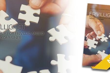 Ingressbilde til bok om Frivillighet