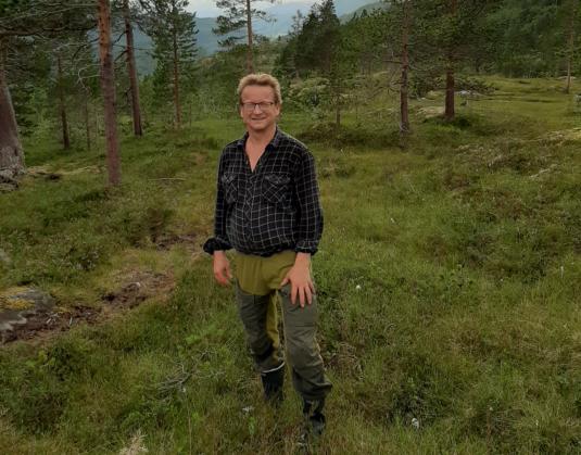 Ordfører Gisle Hansen på tur