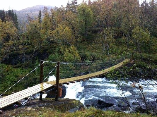 Bru i Sørfjorddalen