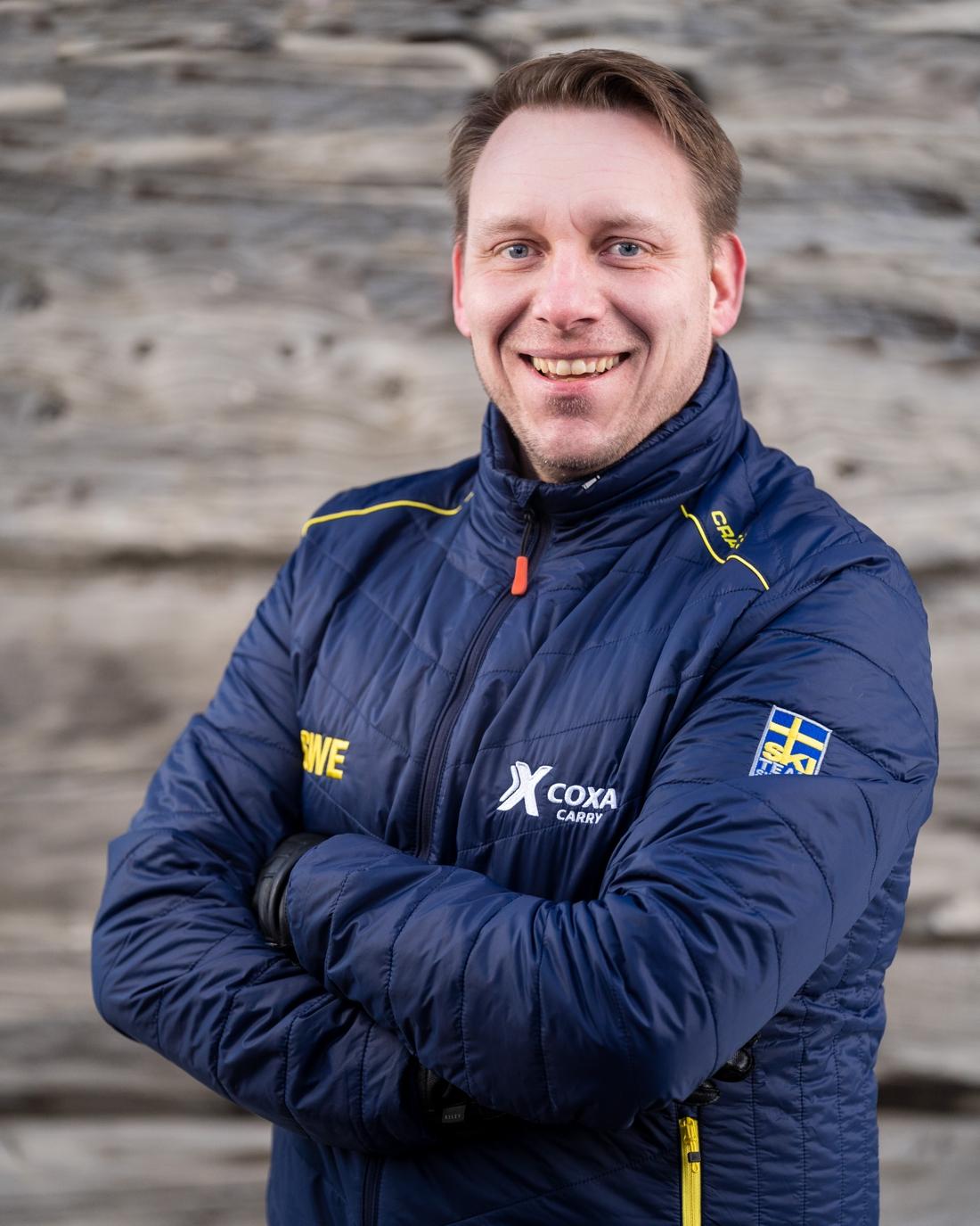 Christer Nilsson, VD för Coxa Carry.