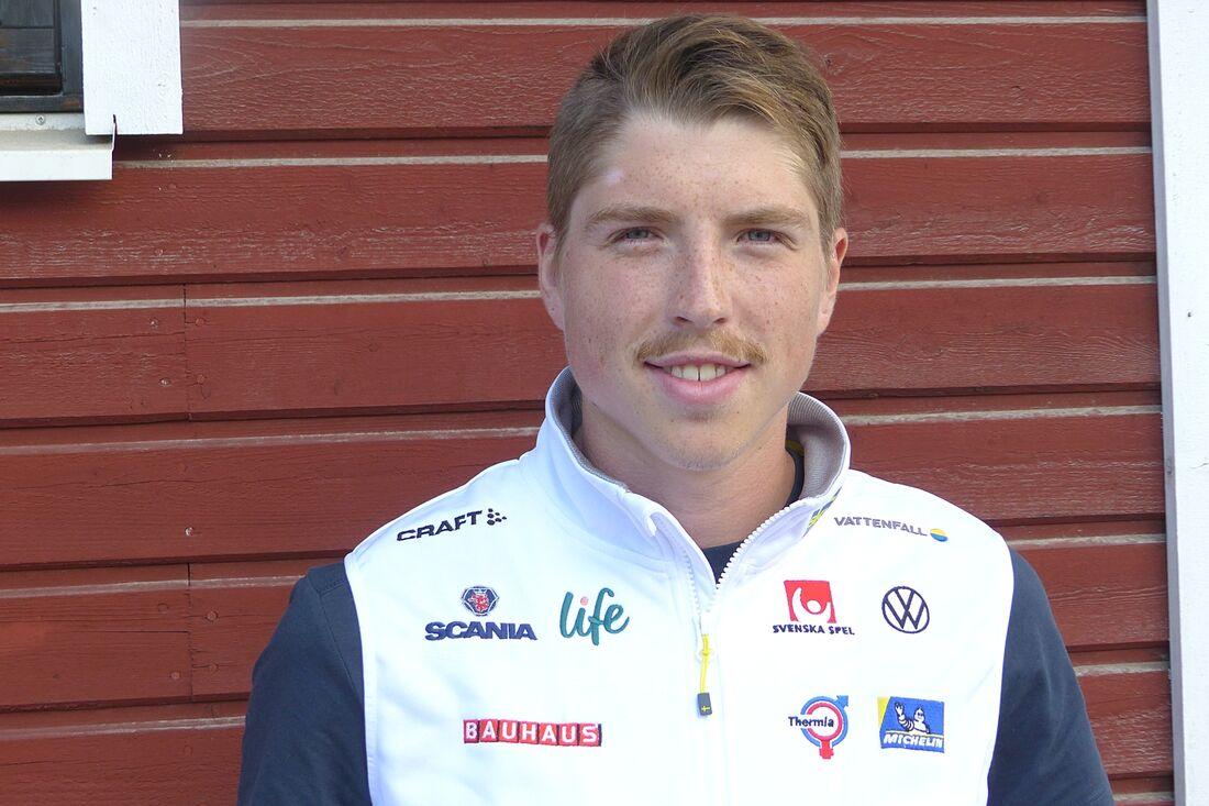 William Poromaa har kunnat förbereda sig bra inför sin första säsong som senior. FOTO: Johan Trygg/Längd.se.