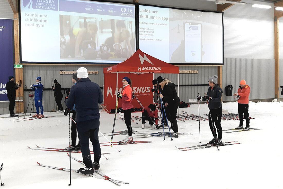 Torsdag 10 september till lördag 12 september finns möjligheten att testa Madshus nyheter i Torsby skidtunnel. FOTO: Sportwin.
