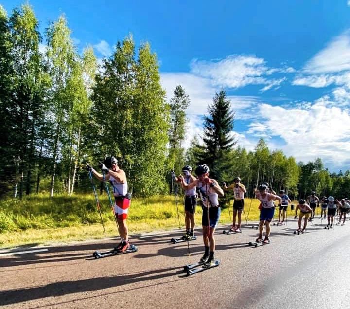 Herrklungan öser på. FOTO: MidSweden 365.