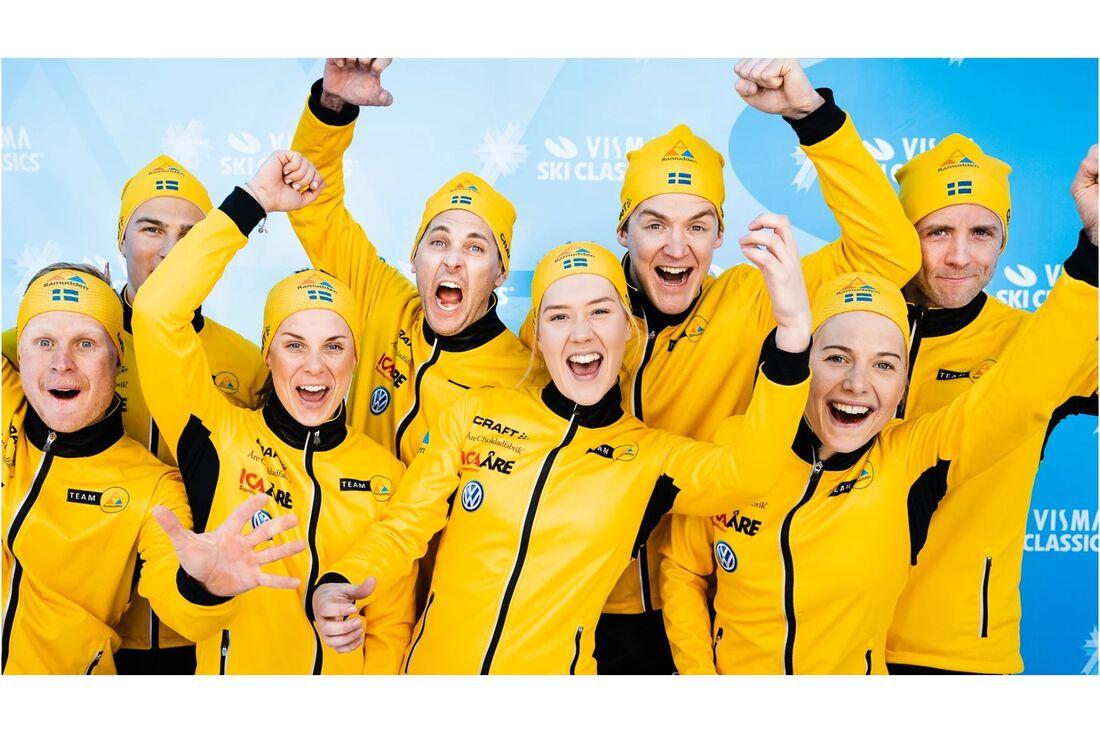 Ramudden förlänger sponsoravtalet med långloppslaget Team Ramudden. FOTO: Visma Ski Classics/Magnus Östh.