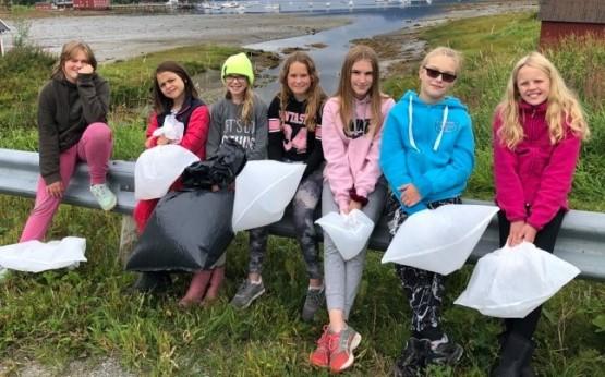 Strandrydding Røsvik skole