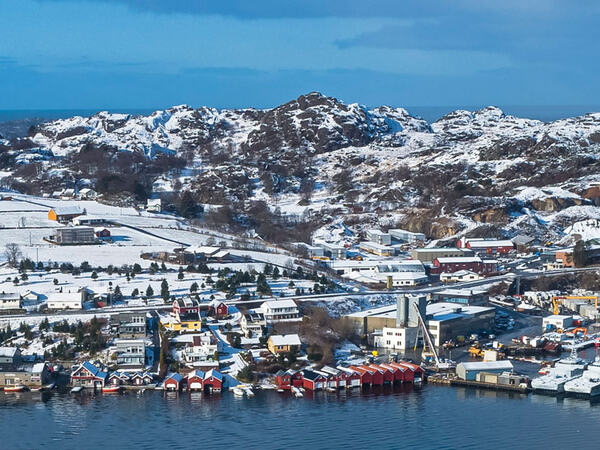 Vinter på Eigerøy