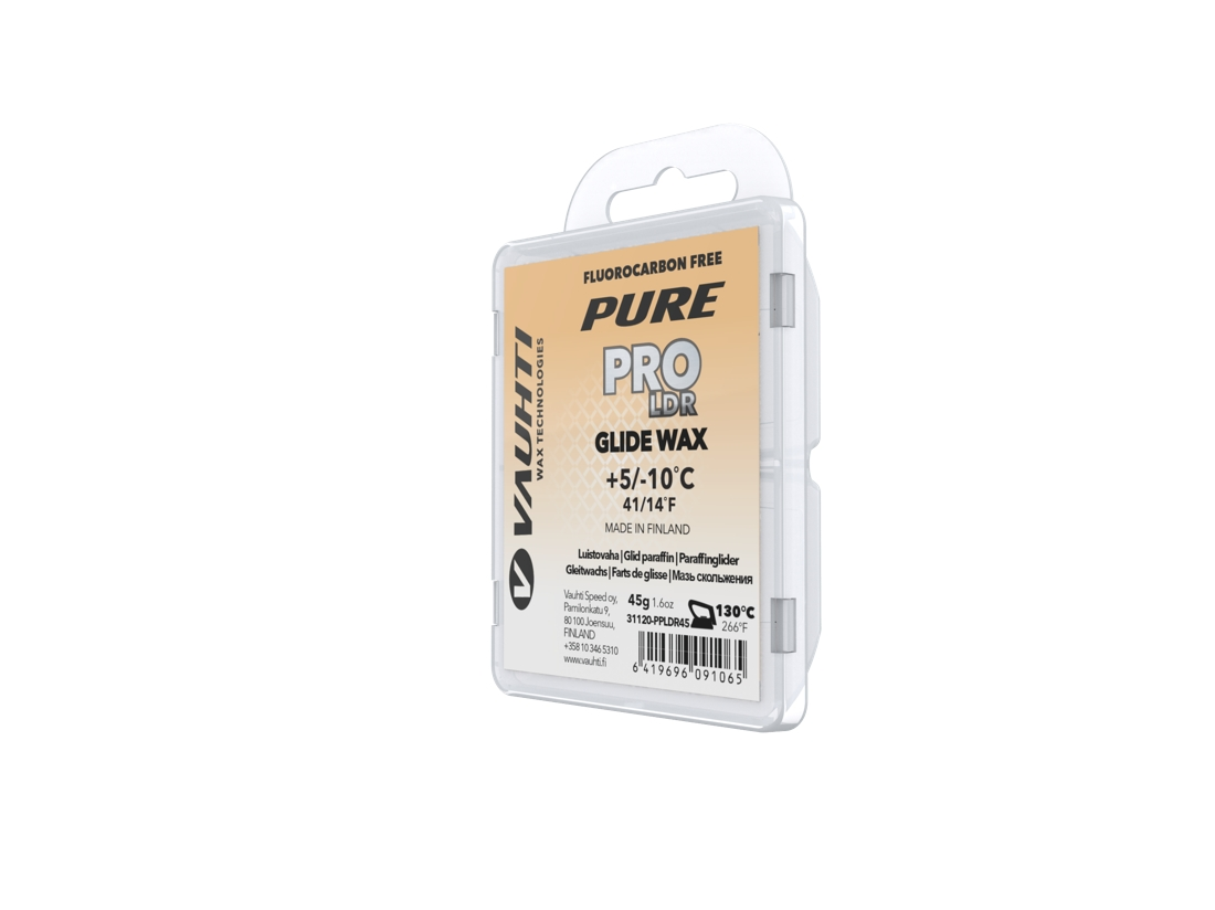 Pure Pro LDR är Vauhtis fluorfria långloppsvalla. FOTO: Vauhti Speed Oy.