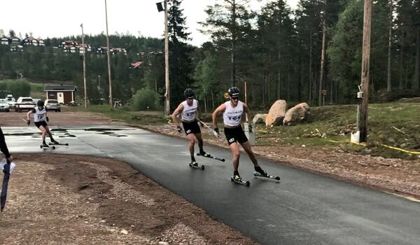 På söndag körs ett träningsrace över 65 kilometer i Orsa Grönklitt på långloppseliten på plats. FOTO: Marcus Laggar.