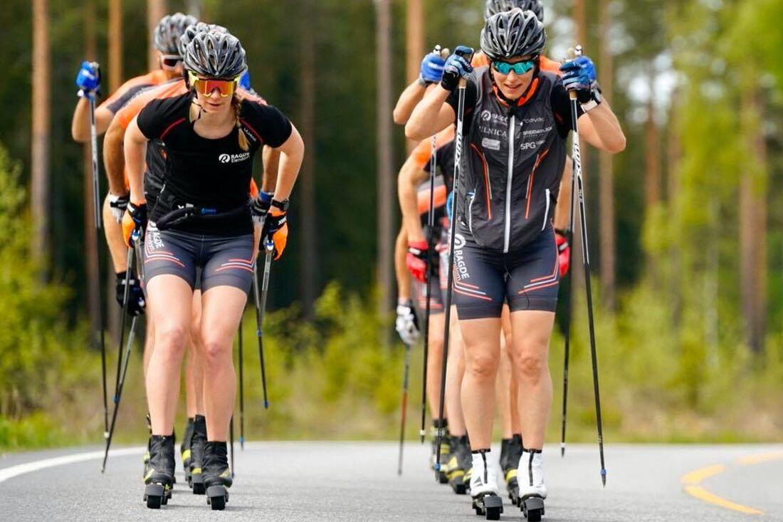 Marit Björgen gör en spännande comeback när hon möter Therese Johaug i ett backrace på rullskidor i kväll. FOTO: Børre E. Helgerud.