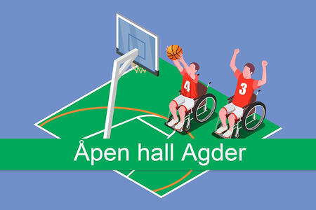 Logoen til Åpen hall Agder