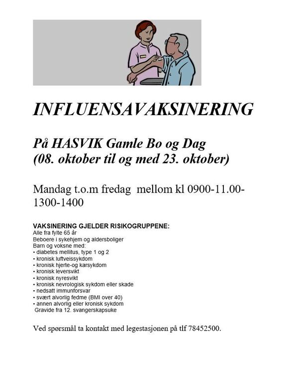 Influensavaksinering