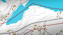 Kart over Hellvik