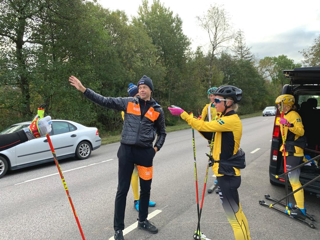 Mattias Reck trivs som fisken i vattnet med åkarna i Team Ramudden. FOTO: Johan Trygg/Längd.se.