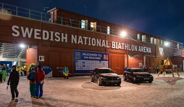 Kanske blir det ändå världscupstävlingar i skidskytte i Östersund i vinter. FOTO: Per Danielsson.