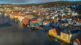 Indre havn i Egersund