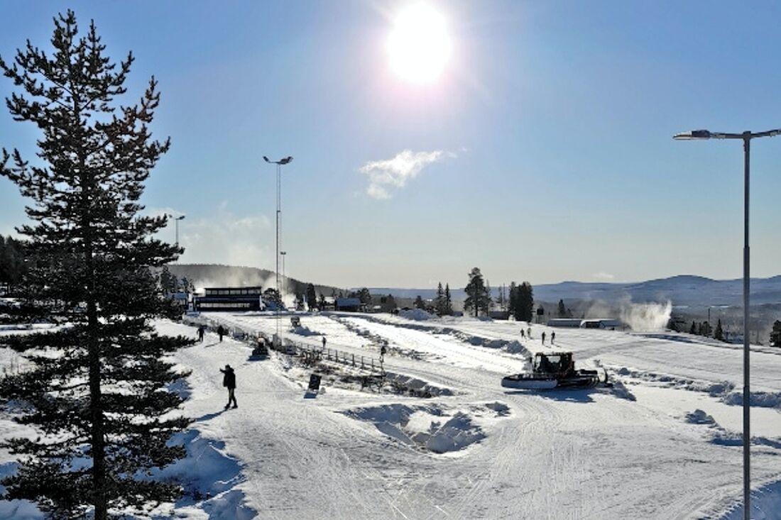 I morgon är det dags för tävling på Idre Fjäll som idag bjöd på så här fina förhållanden. Falun Borlänge SK bjuder in till Tjuvstarten.