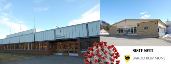 Siste nytt covid skole hall