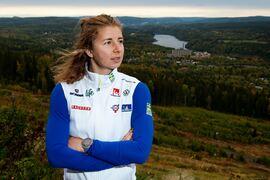 Evelina Settlin ser fram emot starten på säsongen efter förra vintern då de gick riktigt tungt. FOTO: Nils Jakobsson/Bildbyrån.