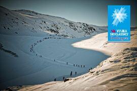 Arctic Circle Race på Grönland är ett av flera nya lopp i Visma Ski Classics Challengers kommande vinter. FOTO: Aqqalu Augustussen, Navagiak Photography.