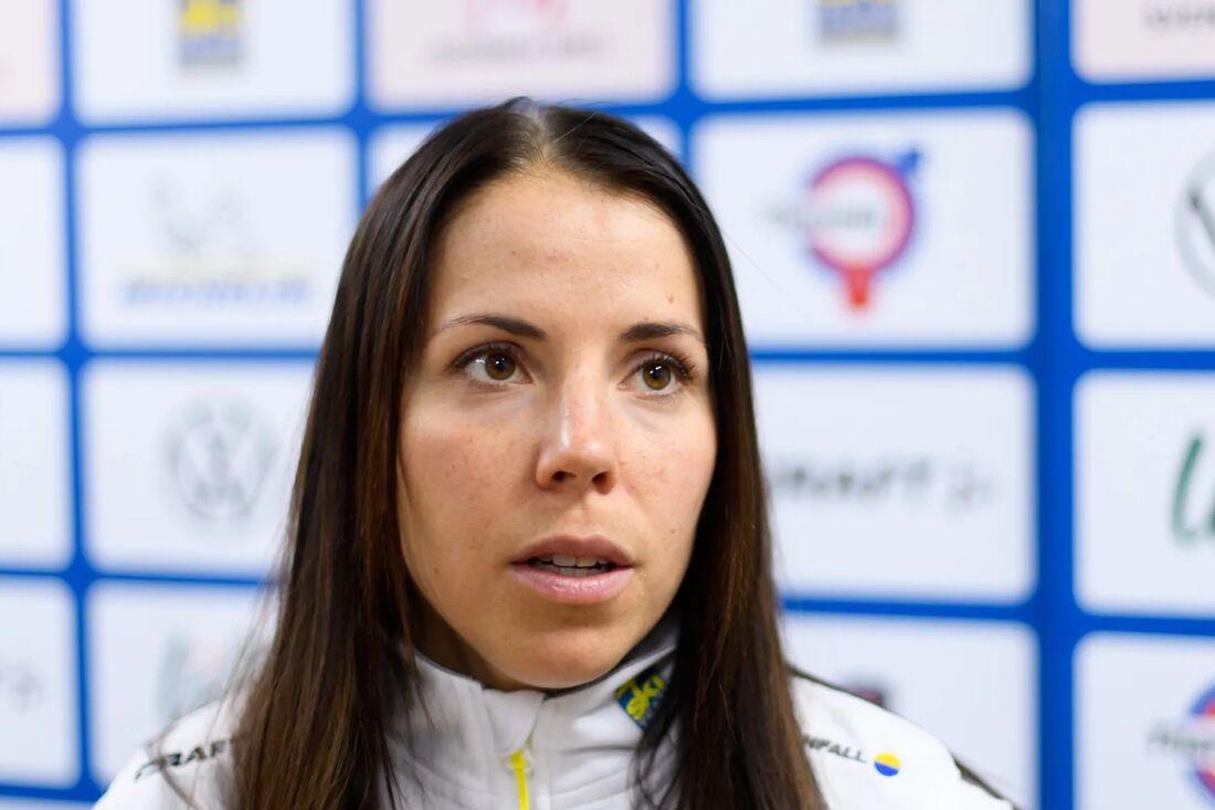 På onsdagen kom beskedet att Charlotte Kalla testat positivt för Covid-19. FOTO: Bildbyrån.