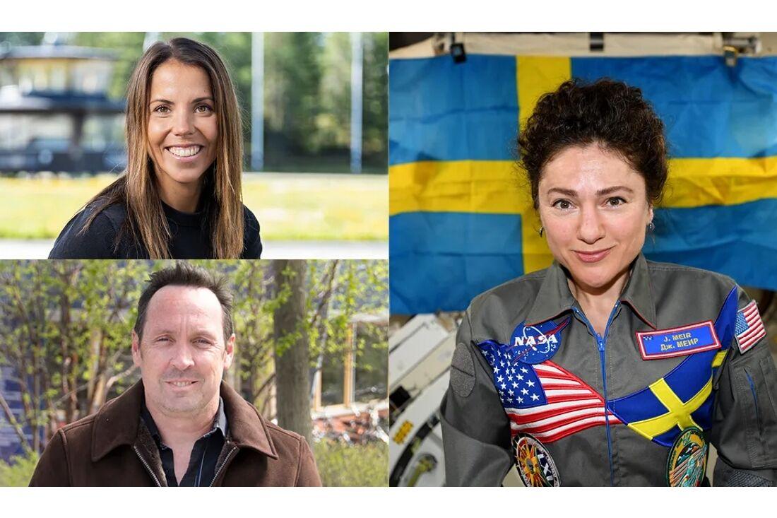 Charlotte Kalla, Dean A Shepherd och Jessica Meir blir nya hedersdoktorer vid Luleå tekniska universitet.