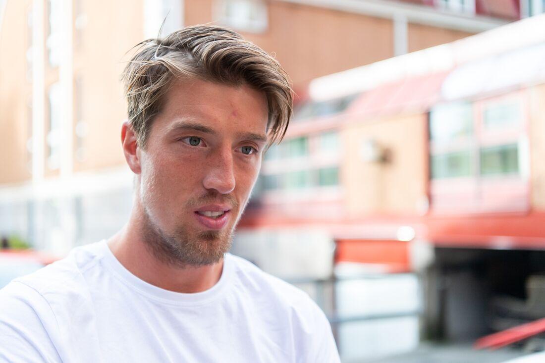 Calle Halfvarsson har störts av sjukdom under hela oktober och räknar inte med att prestera på topp vid säsongspremiären i Bruksvallarna till helgen. FOTO: Carl Sandin/Bildbyrån.